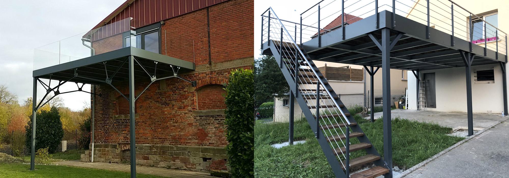 Fabricant Concepteur De Terrasses Et Balcons Suspendus En